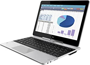 "HP Elitebook Revolve 810-G3 11.6"" Laptop Intel i3-5010U 2.1 GHz 128GB SSD 4GB L8D29UTABA"
