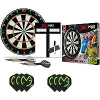 XQ-MAX Michael van Gerwen complete starter set - dartbord - 2 sets dartpijlen - scorebord