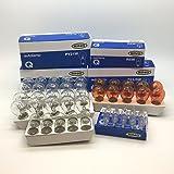 10 Of Each 380 382 581 207 501 239 60 x Assorted Quality 12 Volt Car Bulbs Set