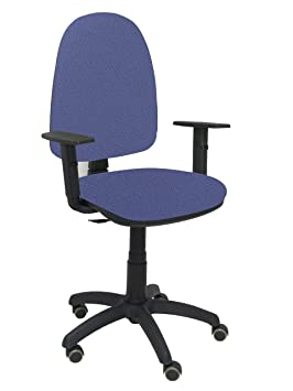 Piqueras Y Crespo 04 Cpbali261b24rp Chaise De Bureau Couleur Bleu