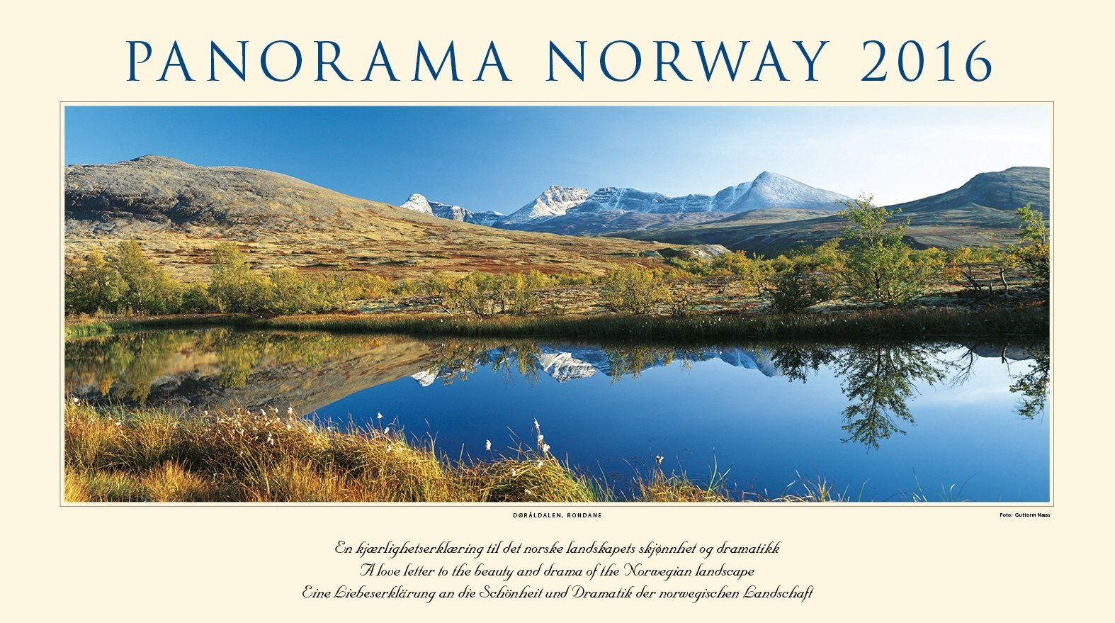 Panorama Norway, Wandkalender 2016; Panorama Norwegen