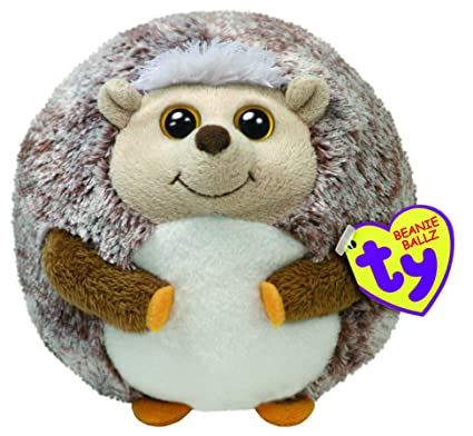 fcaa027ce86 Image Unavailable. Image not available for. Color  Ty Beanie Ballz Prickles  The Hedgehog (Medium)