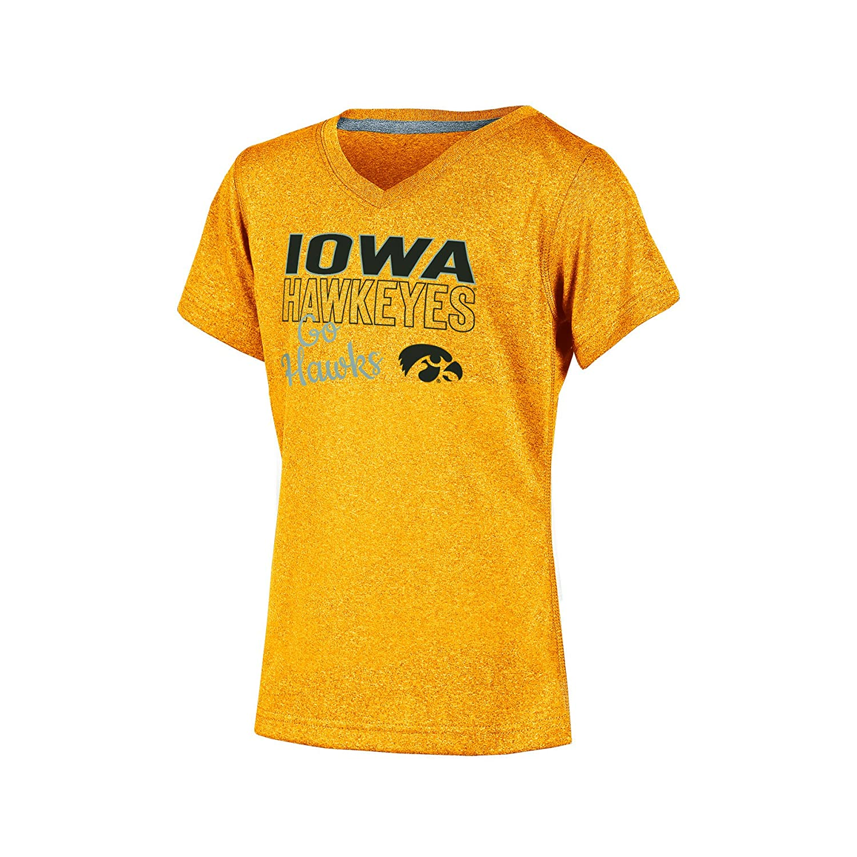【日本限定モデル】 NCAA B06X16S8KX Girl 's半袖VネックTシャツ XL Iowa XL Hawkeyes Girl B06X16S8KX, ベビーネットショップ:14bad437 --- a0267596.xsph.ru