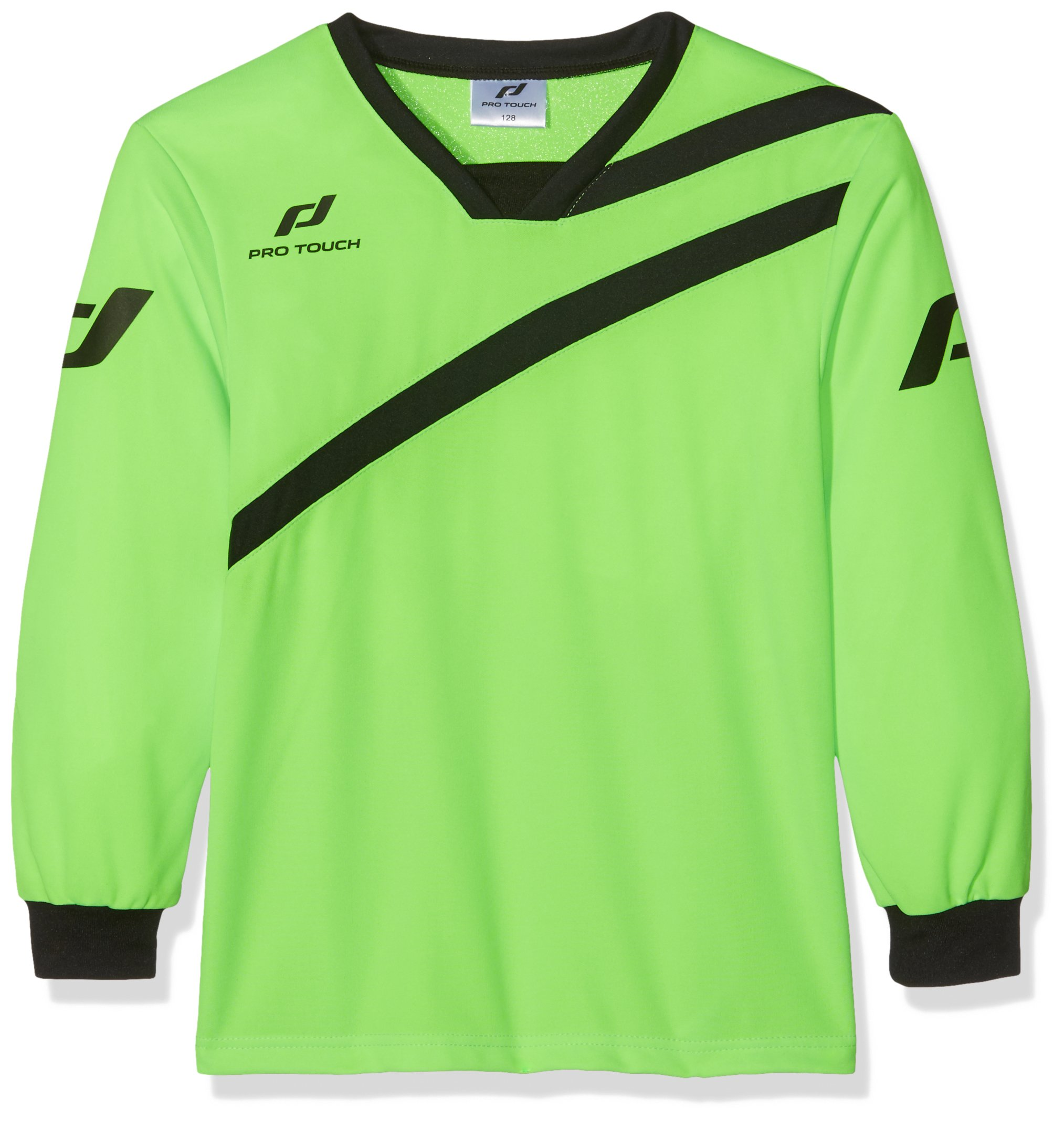 Pro Touch Kids Goalkeeper Barca Jersey Size 152 Green Gecko by Pro Touch