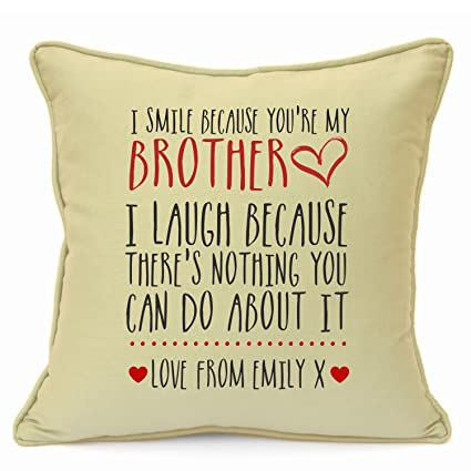 Personalised Presents Gifts For Brother Best Friends Colleagues Cousins  Birthday Christmas Xmas New Home House Warming You Are The Best Funny ...