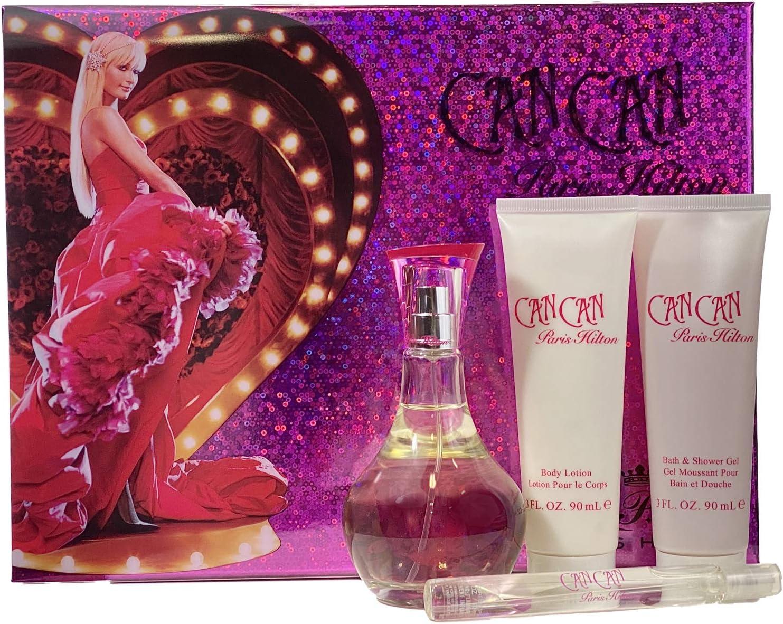 Paris Hilton Can Can Fragrance Set, 4 Count by Paris Hilton
