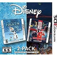 Disney Frozen & Big Hero 6 2 Pack - Nintendo 3DS