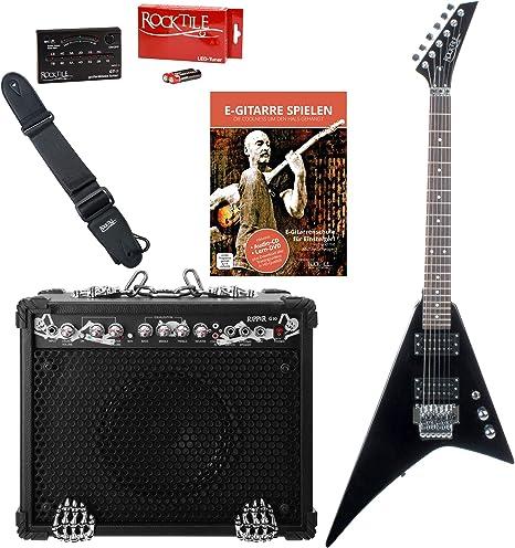 Rocktile Rocktile Pack guitarra eléctrica Blade/Ripper: Amazon.es ...