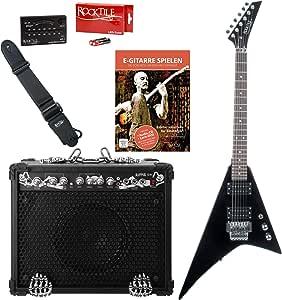 Rocktile Rocktile Pack guitarra eléctrica Blade/Ripper: Amazon.es: Instrumentos musicales