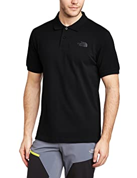 Polos à manches courtes The North Face noirs homme