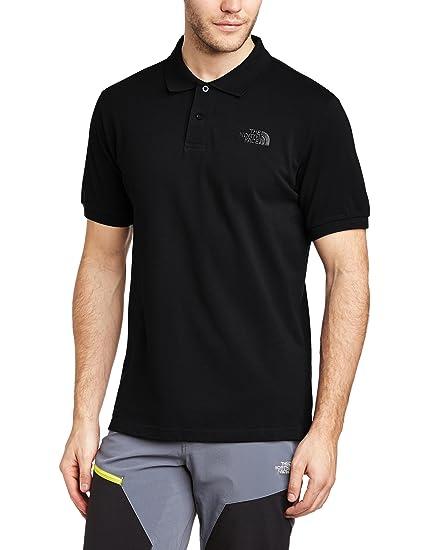 North Face Piquet Polo Shirt TNF Black