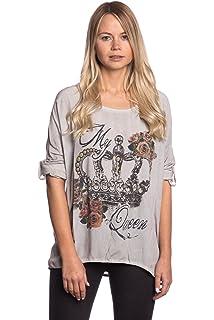 f1a4084a6623 Abbino 15111 Langarmshirts Tops Damen - Made in Italy - Viele Farben - Übergang  Frühling Sommer