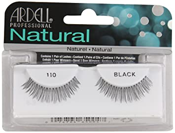 30421d80b48 Amazon.com : Ardell Fashion Lashes, 110-Black : Fake Eyelashes And Adhesives  : Beauty