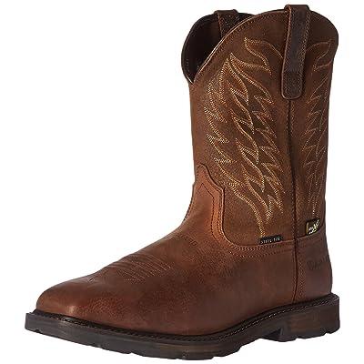Ariat Work Men's Groundbreaker Wide Square Metguard Steel Toe Boot: Shoes