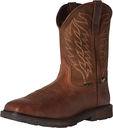 new arrival usa cheap sale utterly stylish Amazon.com: Ariat Work Men's Groundbreaker Wide Square Metguard ...