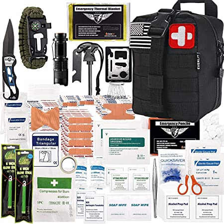 250 Pieces Survival First Aid Kit