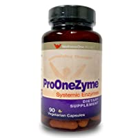 Pro-OneZyme Best Proteolytic Systemic Enzymes Supplement with Nattokinase & Seapose...