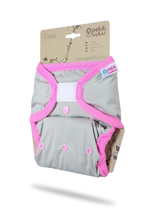 4//–/15/kg para pa/ñales de tela Velcro Petit Lulu One Size cubrepa/ñales