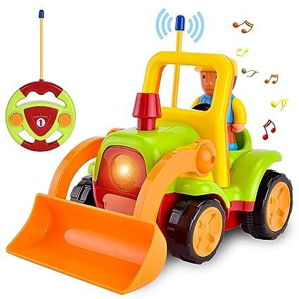 Rooya Música De Camión Animados Edad Vehículos Remoto Radio Rc Juguetes Cars Control Baby 3 Dibujos Fácil Coche Niños xoEQrdCBeW