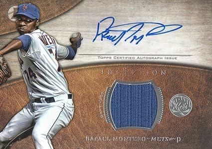 innovative design 2e829 e9ce0 2014 Bowman Inception Relic Autographs #ARRM Rafael Montero ...