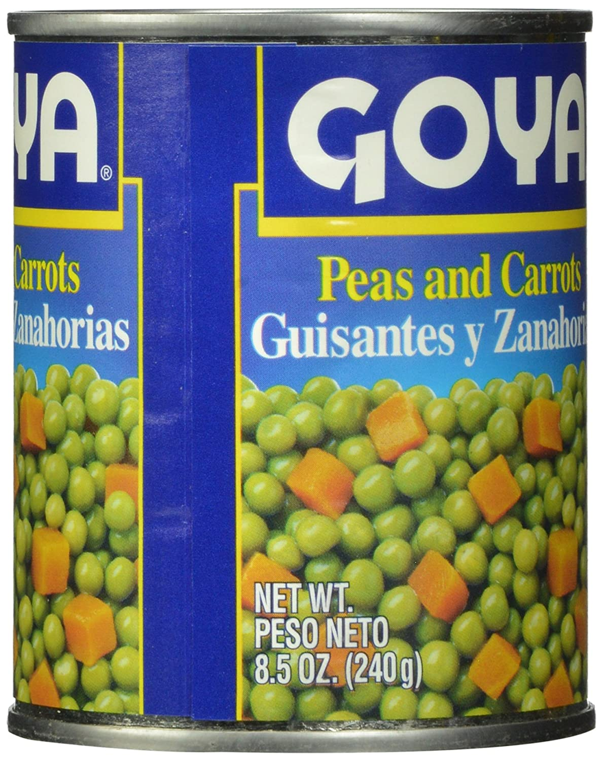 Amazon.com : Goya Peas and Carrots, 8 Ounce (Pack of 24) : Canned And Jarred Vegetables : Grocery & Gourmet Food
