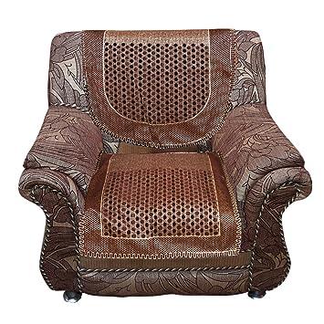 Amazon.com: Kuber Industries Sofa Cover Heavy Velvet Cloth 5 Seater ...