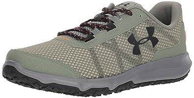 73fd9f9c379d Under Armour Men s Toccoa Running Shoe Moss Green (300) Graphite 7