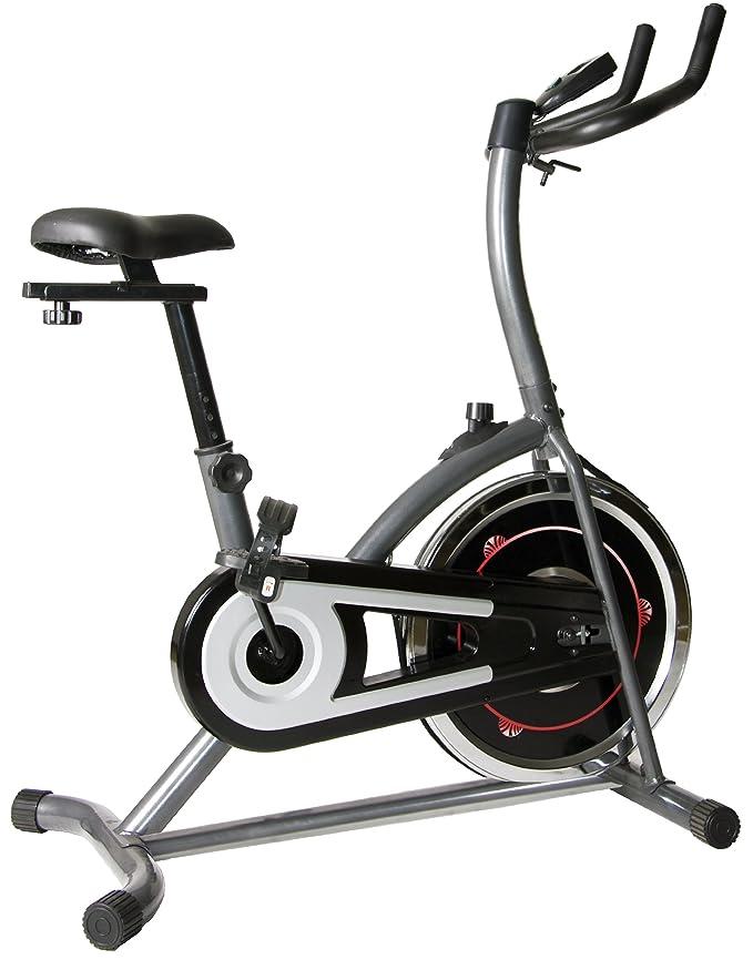 Body Max Bicicleta estática con fluidez Volante: Amazon.es ...