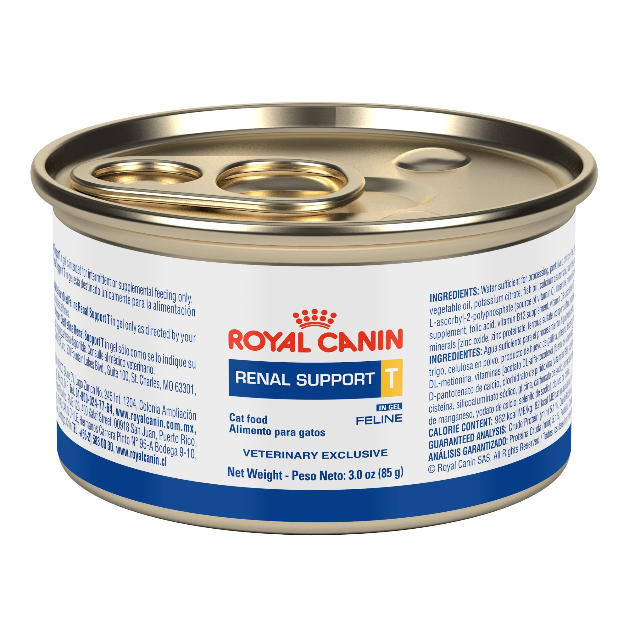 Royal Canin Renal Support T SIG Canned Cat Food (24/3oz cans) by Unknown by Unknown