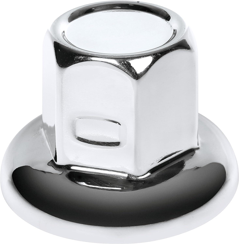 Lampa Tapones de Tuerca de Rueda Hecho de Acero Inoxidable Pulido 32 mm 40s Set