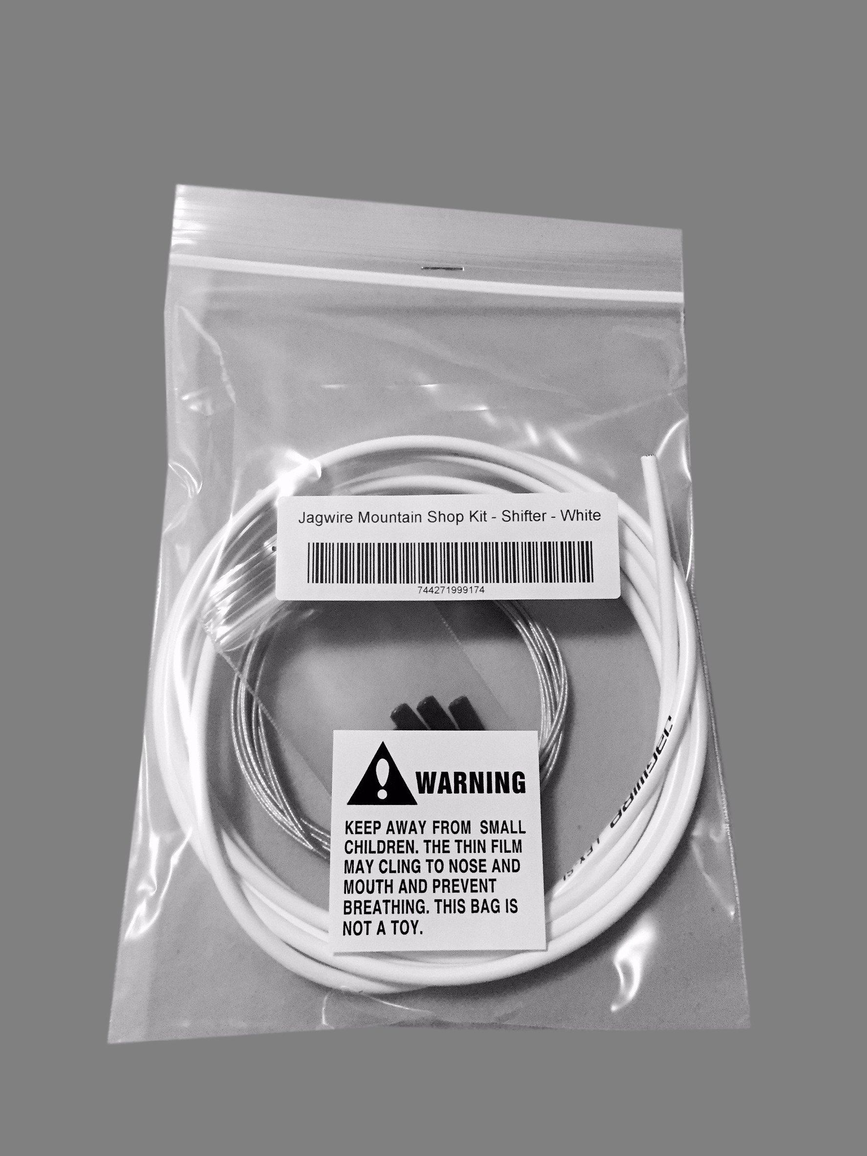 JAGWIRE MOUNTAIN SHOP KIT - Shifter / Derailleur Cable & Housing Kit - WHITE - SRAM/Shimano MTB by Jagwire (Image #3)