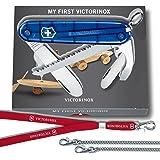"""Kinder Taschenmesser, """"My First Victorinox"""" blau mit Säge (10055)"""