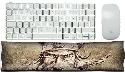 Amazon com : MSD Keyboard Wrist Rest Pad Office Decor Wrist