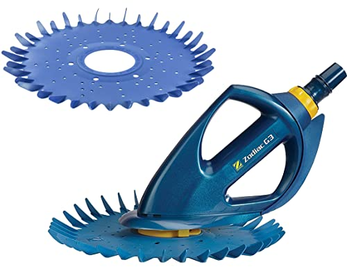 Zodiac Baracuda G3 Kit with Advanced Suction Side Automatic Pool Wall/Floor Cleaner