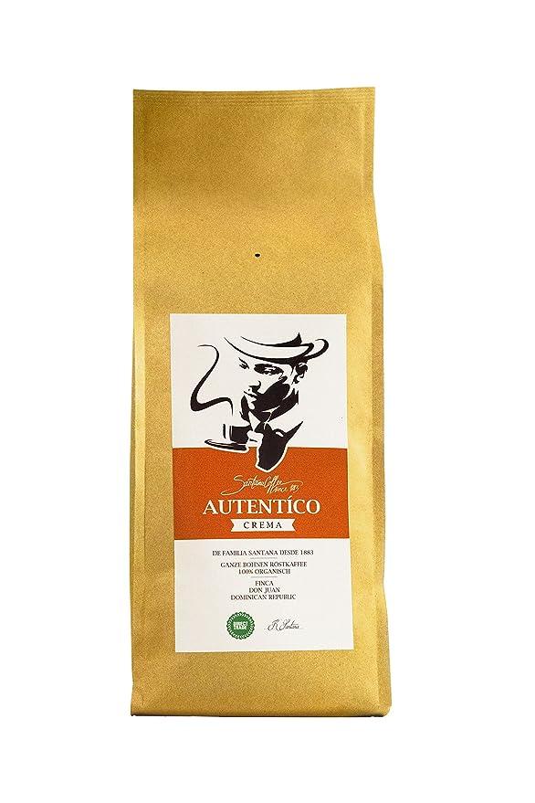 SANTANA AUTÈNTICO - Granos de café, crema de café premium ...