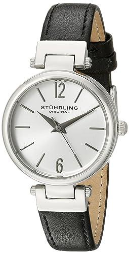 Stuhrling Original 956.01 - Reloj de pulsera Mujer, color Negro: Amazon.es: Relojes