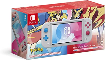 Nintendo Switch Lite - Zacian and Zamazenta Edition [Importación ...