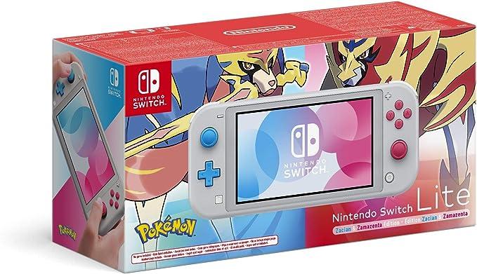 Nintendo Switch Lite Zacian And Zamazenta Edition Amazon