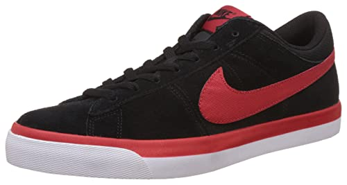 b80d3884eafb Nike Men s Match Supreme Prem LTR Black and Red Sneakers - 10 UK India (