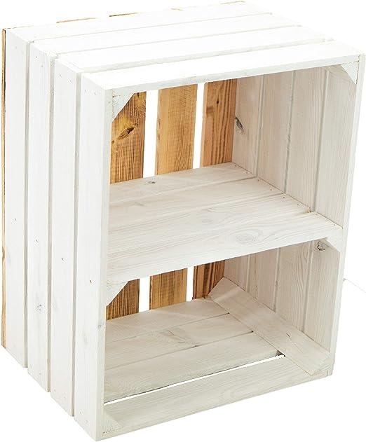 Estantería maciza para zapatos o libros, forma de caja de frutas o ...