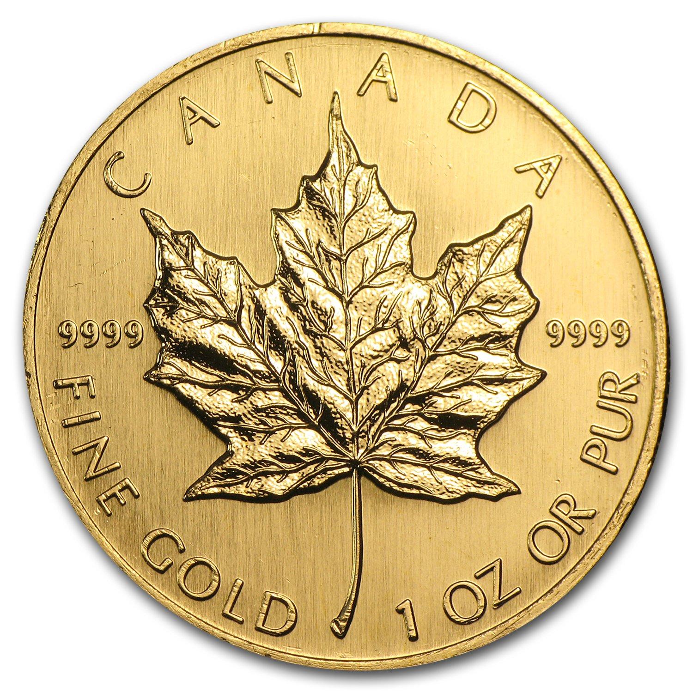 Roll of 25 Silver 2019 1 oz Canadian Maple Leaf Bullion .9999 BU Leafs Coins