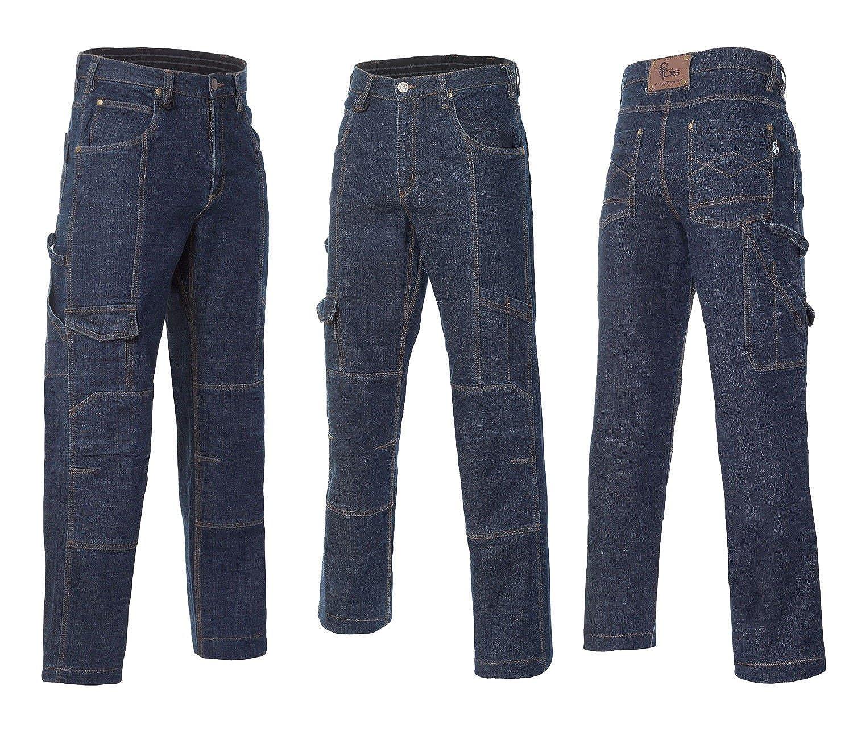 03034c9ee0995c Jeans Arbeitshose Sicherheitshose Schutzhose Bundhose Multifunktion  (CXSJEANS) (56)  Amazon.de  Bekleidung