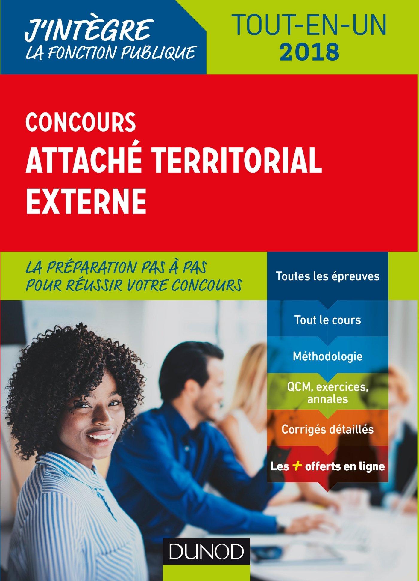 382aab81db0 Amazon.fr - Concours Attaché territorial externe - 2018 - Tout-en-un -  Francis Pian