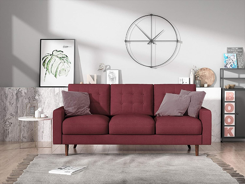 Amazon.com: Container Furniture Direct S5438-S Matte Velvet ...