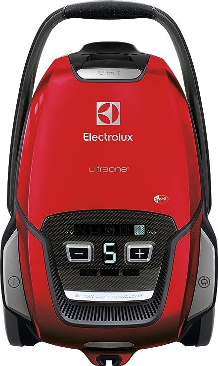 Electrolux euo9animal aspirador con bolsa UltraOne, bolsa s-bag XL de 5 l, sistema de aspiración AeroPro, Allergy Plus Filter, Chilli Red: Amazon.es: Hogar