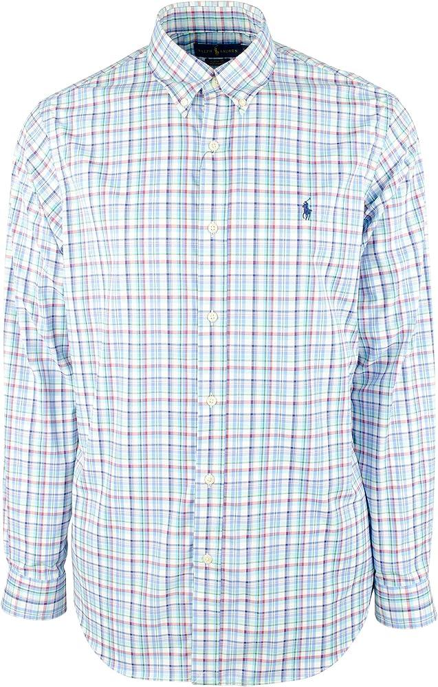 Polo Ralph Lauren - Camisa de cuadros - Multi - Small: Amazon.es: Ropa y accesorios