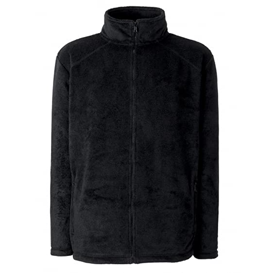 Fruit Of The Loom Womens/Ladies Lady-Fit Full Zip Fleece Jacket ...