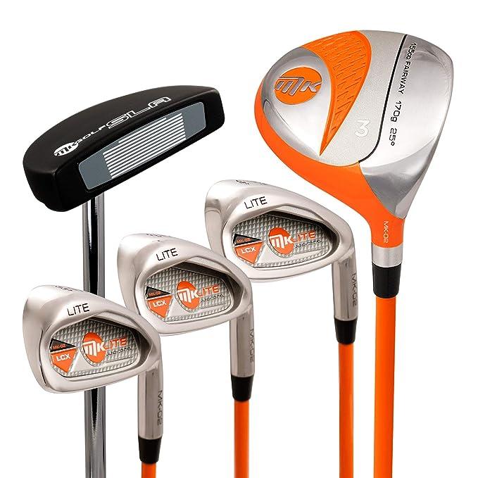 Masters Golf - MK Lite Half Set Left-Hand Orange 49in ...