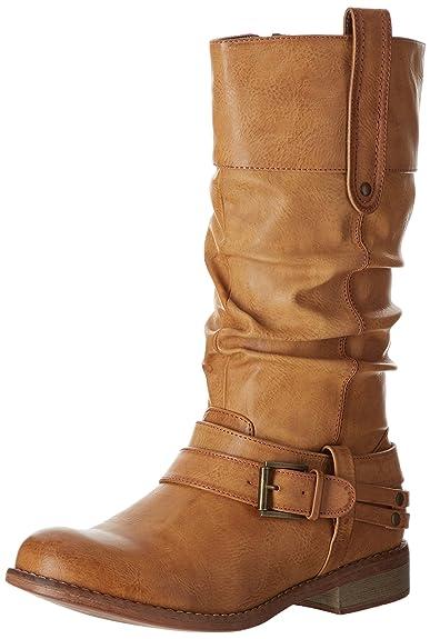 57938aa2f486 Rieker 95672-24, Bottes Femme: Amazon.fr: Chaussures et Sacs