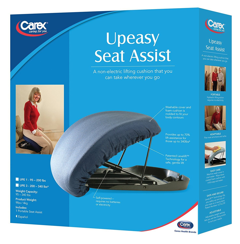 UPEASY Lift Cushion, Standard 95-220 Lbs